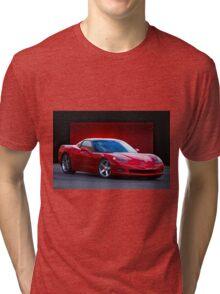 2005 Chevrolet Corvette C6 Coupe Tri-blend T-Shirt