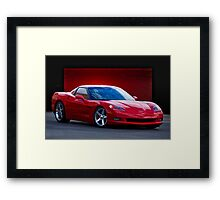 2005 Chevrolet Corvette C6 Coupe Framed Print