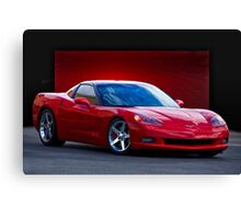 2005 Chevrolet Corvette C6 Coupe Canvas Print
