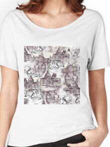 Venetian Toile Women's Relaxed Fit T-Shirt