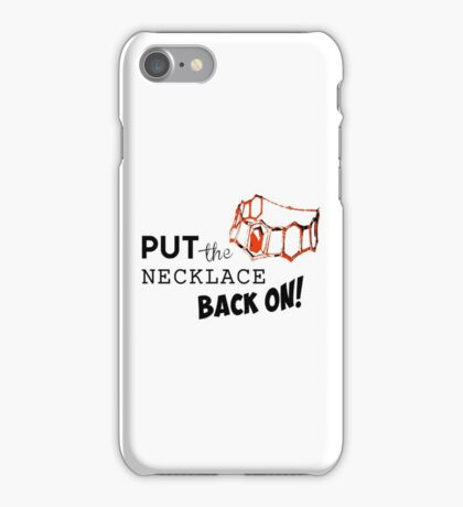 GoT - Red Woman Necklace iPhone Case/Skin