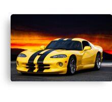 Dodge Competition Viper Canvas Print