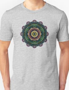 Surreal fractal 3D mandala Unisex T-Shirt