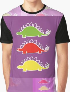 BEHOLD ...  THE DEADLY STEGOSAURUS RAMPAGE Graphic T-Shirt