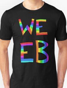 Rainbow Weeb Graphic Unisex T-Shirt