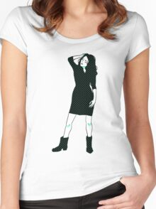 fem Women's Fitted Scoop T-Shirt