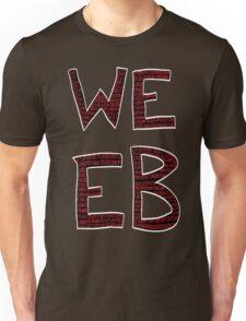 Red Binary Weeb Graphic Unisex T-Shirt