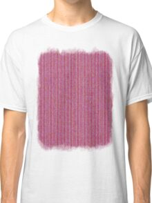 Pink Roses in Anzures 1 Knit 2 Classic T-Shirt