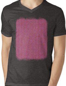 Pink Roses in Anzures 1 Knit 2 Mens V-Neck T-Shirt