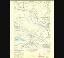 USGS TOPO Map New Jersey NJ Lakehurst 254520 1947 24000 Unisex T-Shirt