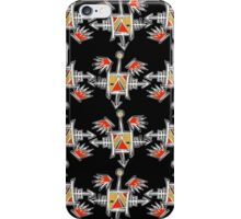 crow totem 4 iPhone Case/Skin