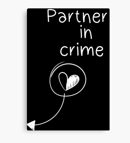 Partner in crime Canvas Print