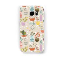 Cactus Pattern Samsung Galaxy Case/Skin