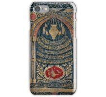 AN OTTOMAN SILK AND METAL-THREAD CURTAIN WITH TUGHRA iPhone Case/Skin