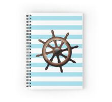 Sailor's Wheel Spiral Notebook