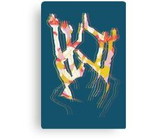 Dancing Arms Canvas Print