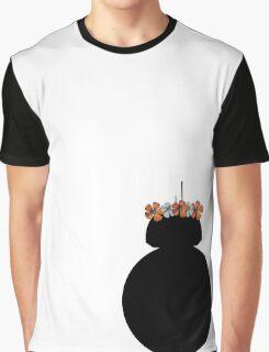 BB-8 Flower Crown Graphic T-Shirt