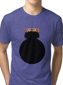BB-8 Flower Crown Tri-blend T-Shirt