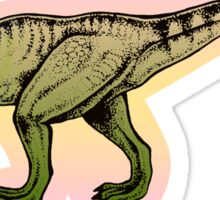 Trex for girls Sticker