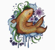 Koi Fish Kids Clothes