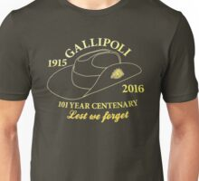 Anzac Day 2016 Unisex T-Shirt