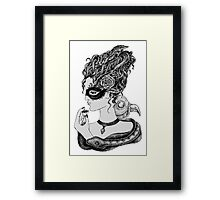 No Time To Waste Framed Print