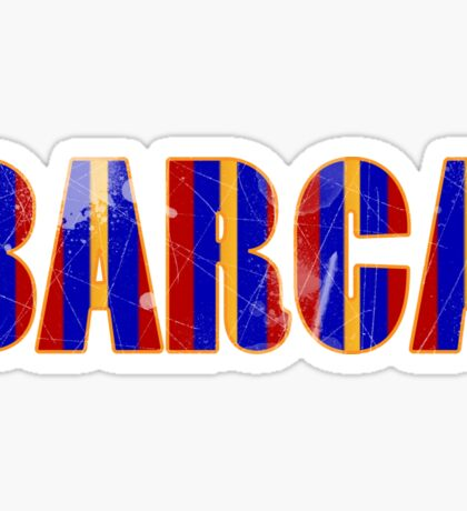 FC Barcelona Gifts Design Sticker