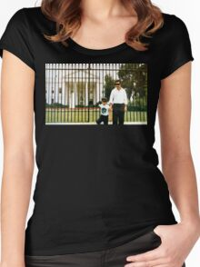 White House Pablo Women's Fitted Scoop T-Shirt