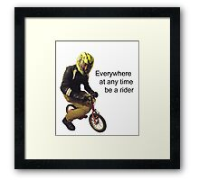 Cyclos Framed Print