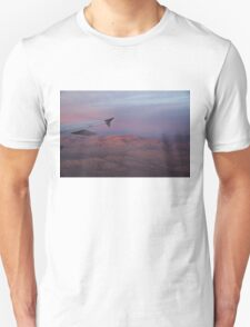 Flying Over the Mojave Desert at Sunrise Unisex T-Shirt
