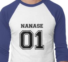 Free - Haruka Nanase Varsity Men's Baseball ¾ T-Shirt