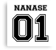 Free - Haruka Nanase Varsity Canvas Print