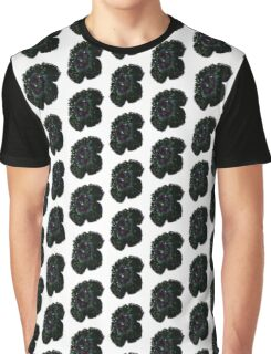 Flower Water Droplets Graphic T-Shirt