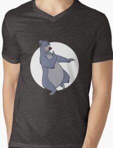 Baloo Mens V-Neck T-Shirt