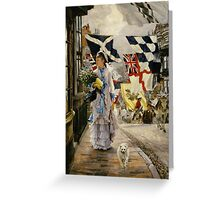 A Fete Day at Brighton Greeting Card