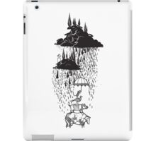 Unusual art poster. Animalistic philosophy illustration iPad Case/Skin
