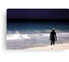 The Yellow Cap Canvas Print