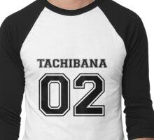 Free - Makoto Tachibana Varsity Men's Baseball ¾ T-Shirt