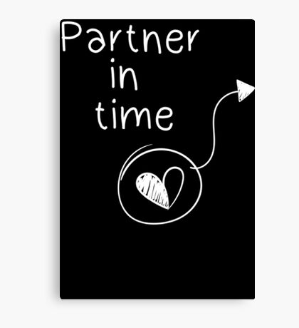 Partner in time Canvas Print