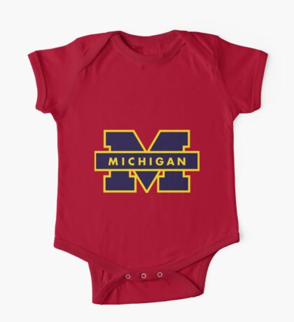 Michigan! One Piece - Short Sleeve