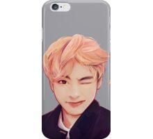 Blond Taehyung  iPhone Case/Skin