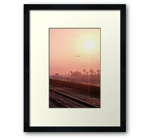 Flying like an Angel - GTA V Framed Print