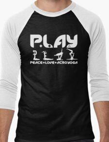P+L+AY Poses Men's Baseball ¾ T-Shirt