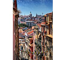 Luminous Lisbon Photographic Print