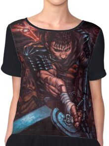 Guts from BERSERK Chiffon Top