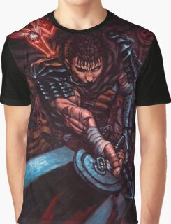 Guts from BERSERK Graphic T-Shirt