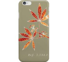Botany ref. 7.734.1 iPhone Case/Skin