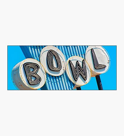 let's go bowling Photographic Print