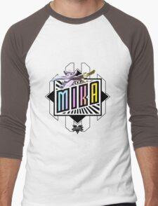 R-Mika Men's Baseball ¾ T-Shirt