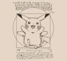 Vitruvian Mon by Tom  Ledin
